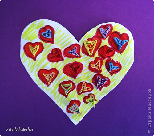 14 февраля и 8 Марта очень сердечные праздники! Идейки валентинок по-моему еще актуальны! Мои девчонки не скучали во время карантина по гриппу.  Ира Зырянова нашла идейки валентинок в Интернете и сделала вот так: фото 8