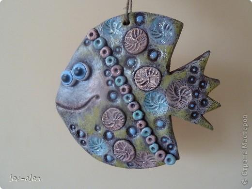 Еще одна рыбка, имитация керамики фото 1