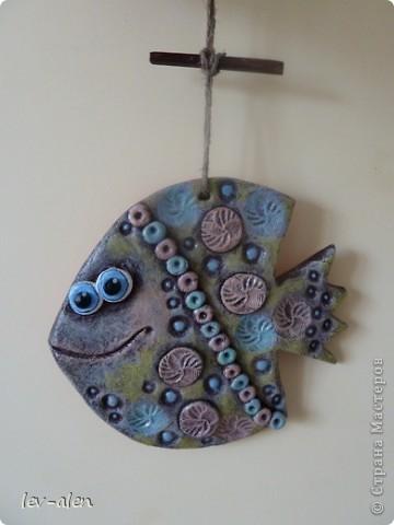 Еще одна рыбка, имитация керамики фото 2