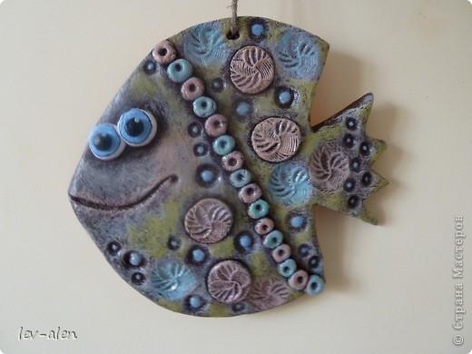 Еще одна рыбка, имитация керамики фото 3