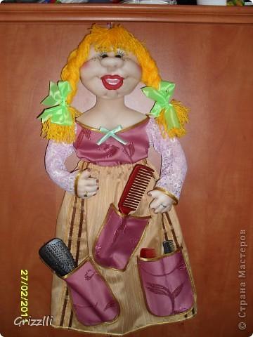 Моя кукла в прихожую. Спасибо Оксане Третьяковой за МК картонного каркаса фото 1