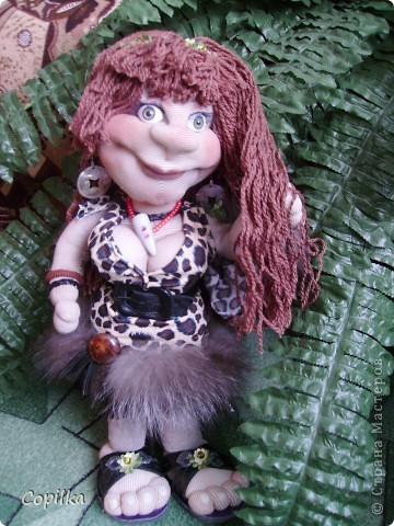 Жила-была в древнем лесу красавица-троглодитка.И звали её - Трогли.Вот она-красотулечка! фото 2