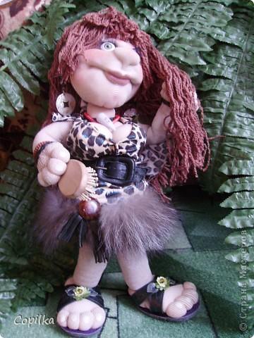 Жила-была в древнем лесу красавица-троглодитка.И звали её - Трогли.Вот она-красотулечка! фото 3