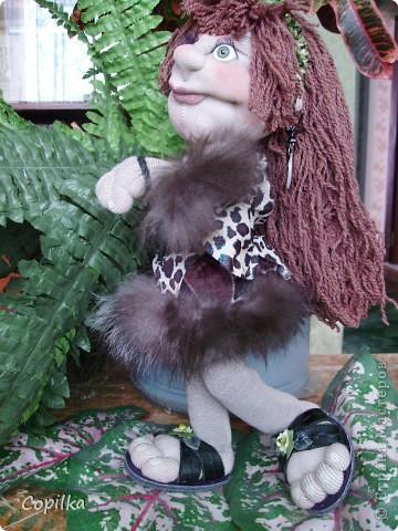 Жила-была в древнем лесу красавица-троглодитка.И звали её - Трогли.Вот она-красотулечка! фото 1