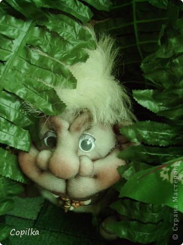 Жила-была в древнем лесу красавица-троглодитка.И звали её - Трогли.Вот она-красотулечка! фото 6