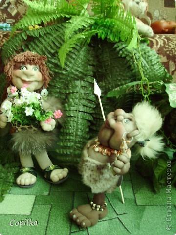 Жила-была в древнем лесу красавица-троглодитка.И звали её - Трогли.Вот она-красотулечка! фото 8