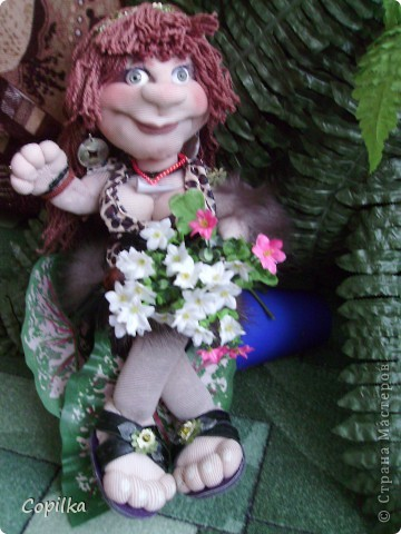 Жила-была в древнем лесу красавица-троглодитка.И звали её - Трогли.Вот она-красотулечка! фото 10