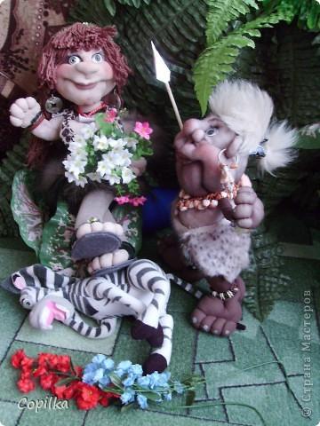 Жила-была в древнем лесу красавица-троглодитка.И звали её - Трогли.Вот она-красотулечка! фото 11
