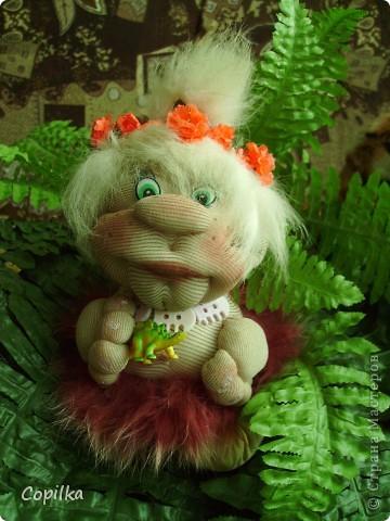 Жила-была в древнем лесу красавица-троглодитка.И звали её - Трогли.Вот она-красотулечка! фото 16