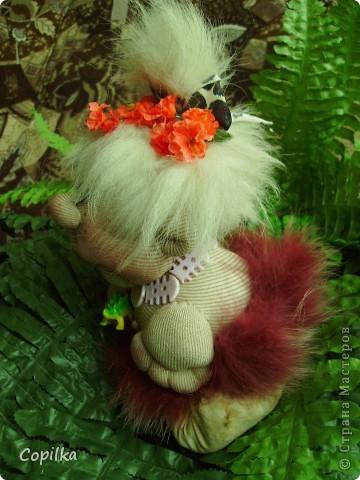 Жила-была в древнем лесу красавица-троглодитка.И звали её - Трогли.Вот она-красотулечка! фото 17
