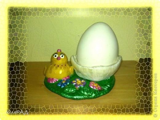 Потихоньку готовлю подарочки к Пасхе)))) решила сделать такие подставки под яйца в виде цыплят фото 2