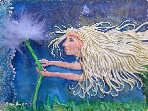 """Фея Одуванчиков. В честь моего ника, одного из любимых цветов и словечка """"задуванчик"""", которое было в словаре моей доченьки, когда ей было еще года три)) фото 2"""