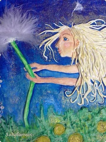 """Фея Одуванчиков. В честь моего ника, одного из любимых цветов и словечка """"задуванчик"""", которое было в словаре моей доченьки, когда ей было еще года три)) фото 3"""