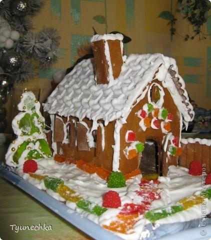 Вот такой домик для  создания праздничной атмосферы фото 2