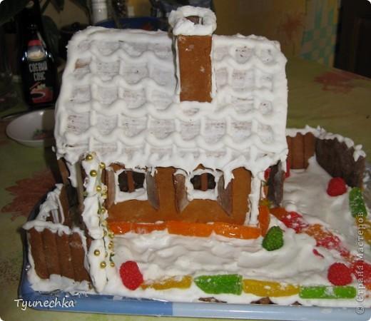 Вот такой домик для  создания праздничной атмосферы фото 4