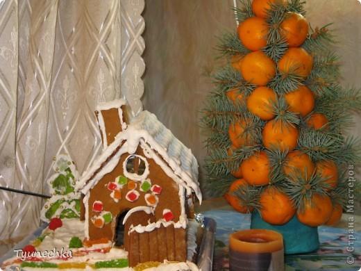 Вот такой домик для  создания праздничной атмосферы фото 5