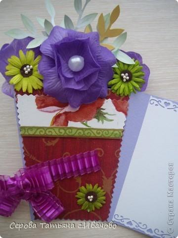 Очень понравилась идея открытки, показанная Енотик в  мастер-классе http://stranamasterov.ru/node/91907?c=favorite Это наш с дочкой вариант фото 2