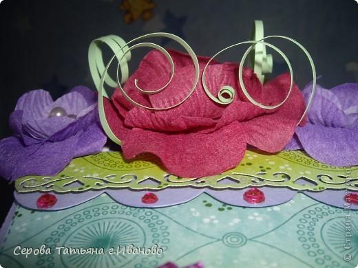Очень понравилась идея открытки, показанная Енотик в  мастер-классе http://stranamasterov.ru/node/91907?c=favorite Это наш с дочкой вариант фото 3