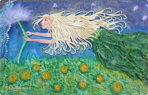 """Фея Одуванчиков. В честь моего ника, одного из любимых цветов и словечка """"задуванчик"""", которое было в словаре моей доченьки, когда ей было еще года три)) фото 4"""