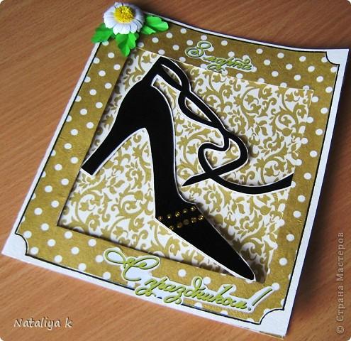 Увидела в интернет-магазине такую туфельку,и глаза загорелись,руки зачесались ))) фото 1