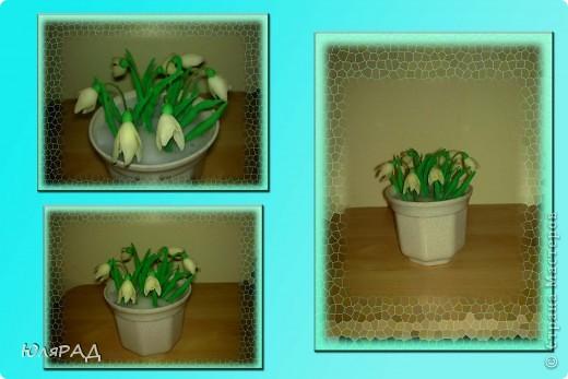 Вот такие малышки получились, горшочек очень маленький..............вся композиция примерно 10 см. Сделаны из очень тонкой проволоки и когда их берёшь, то они качаются)))))) Спасибо Kukushechka за идею. фото 1