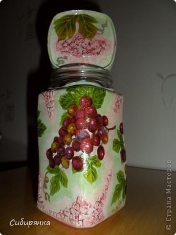 """Карандашница """"Котейки"""".Моя первая работа. Использовала: стакан, открытка,контуры по стеклу, акрил.краски, лак. фото 12"""