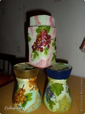 """Карандашница """"Котейки"""".Моя первая работа. Использовала: стакан, открытка,контуры по стеклу, акрил.краски, лак. фото 13"""