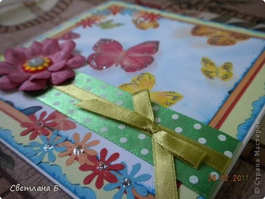Сегодня у меня праздник! Мне пришла посылка с подарками от Таи Орловой! Я летела на крыльях домой, настроение было праздничное. Лицо щекотал лёгкий снежок, я шла и улыбалась. Открыв дрожащими руками пакет я увидела чудесной красоты три открытки. Затаив дыхание я долго рассматривала каждую из них.  фото 11