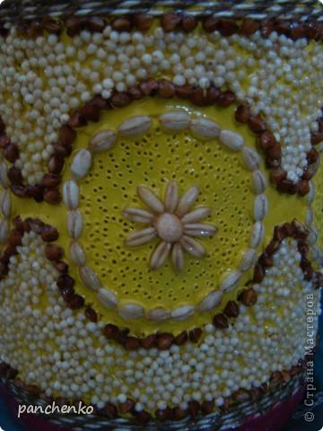 Предмет для декорирования+пластилин+крупа+акриловый лак фото 4
