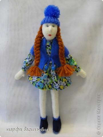 Безумно люблю шить кукол.Я не замечаю,как проходит время,когда я их мастерю,а оно летит,а другие дела стоят,не делаются. фото 1