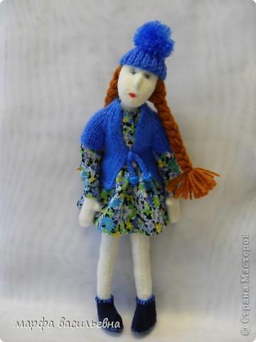 Безумно люблю шить кукол.Я не замечаю,как проходит время,когда я их мастерю,а оно летит,а другие дела стоят,не делаются. фото 2