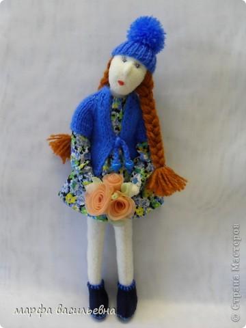 Безумно люблю шить кукол.Я не замечаю,как проходит время,когда я их мастерю,а оно летит,а другие дела стоят,не делаются. фото 4