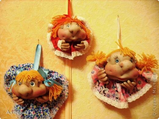 Мои заказные Попики - Светка, Анжелка и Елизавета. Шились сразу втроем. фото 1