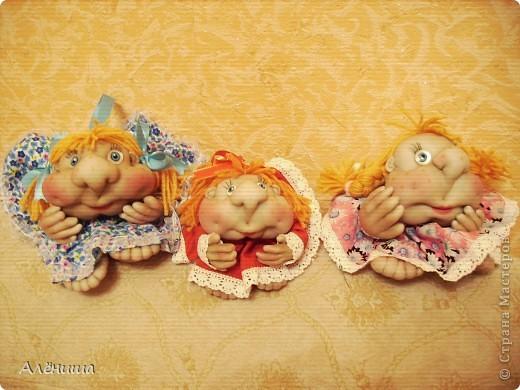 Мои заказные Попики - Светка, Анжелка и Елизавета. Шились сразу втроем. фото 5
