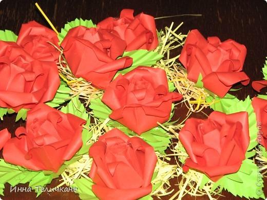 Корзиночки с розами фото 8