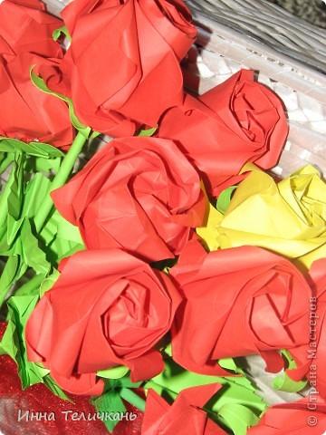 Училась делать розы.... фото 3