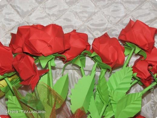 Училась делать розы.... фото 2