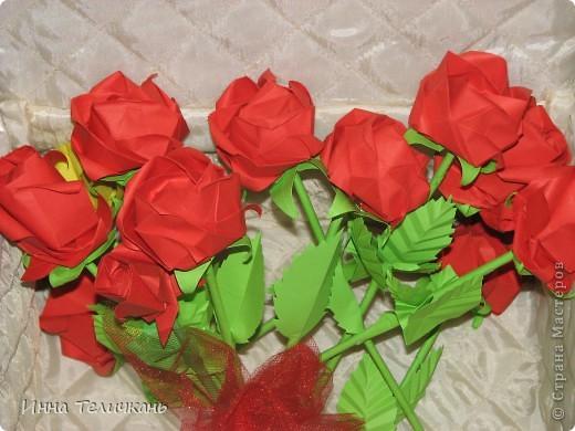 Училась делать розы.... фото 1
