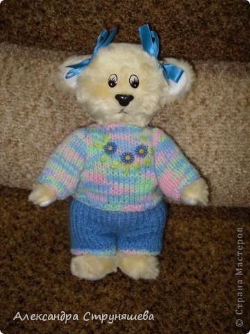 Медвежонок Варька, костюмчик связала подруга. фото 3