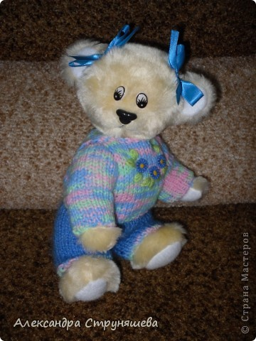 Медвежонок Варька, костюмчик связала подруга. фото 2