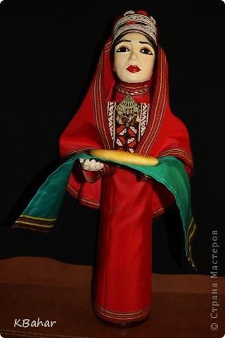 Куколка с сюрпризом в туркменском наряде. фото 1