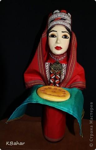 Куколка с сюрпризом в туркменском наряде. фото 2