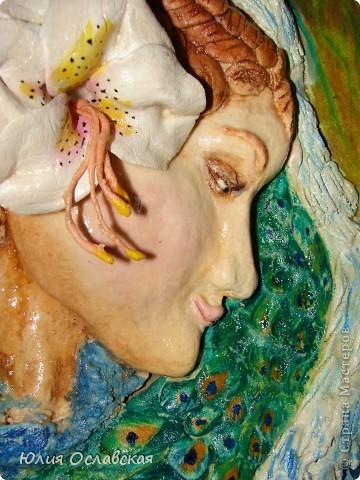 Панно делала по картине замечательной художницы Жозефины Уолл http://www.josephinewall.com Моя девушка получилась не такая красивая как оригинал, но как говорится на ошибках учатся. фото 3