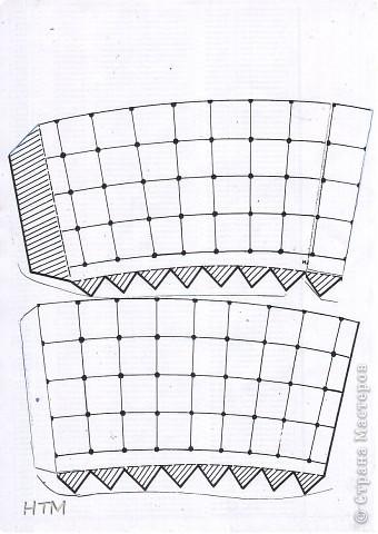 Корзинка и цветы сделаны из бумаги.  Поделка для младших школьников. фото 3