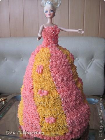 Вот какой тортик я с мамой пекла фото 2