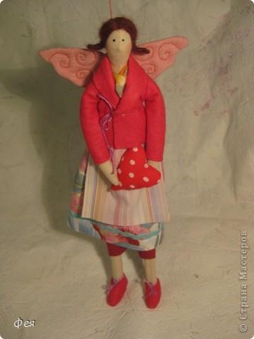 Это  - Ляля :) Маленькая фея , она всего  28 см ростом:) фото 2