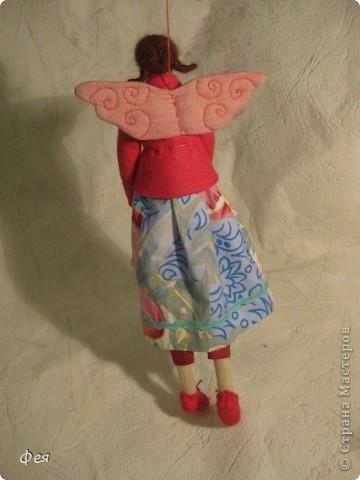 Это  - Ляля :) Маленькая фея , она всего  28 см ростом:) фото 3