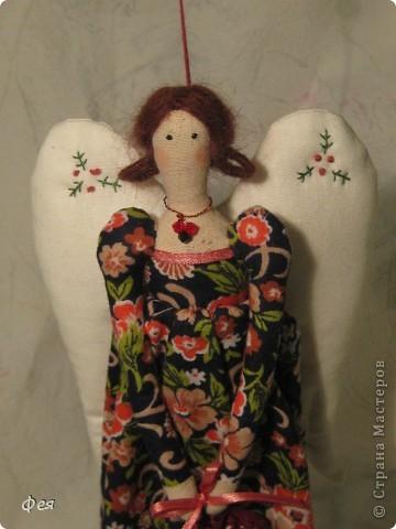Это  - Ляля :) Маленькая фея , она всего  28 см ростом:) фото 4