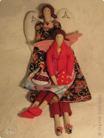 Это  - Ляля :) Маленькая фея , она всего  28 см ростом:) фото 7