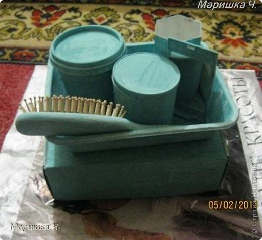 Наборчик для туалетного столика фото 4
